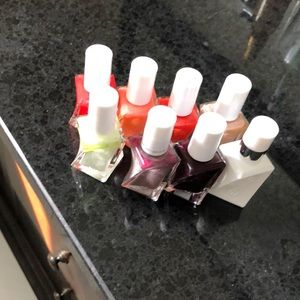 Essie gel couture nail polishes and top coat